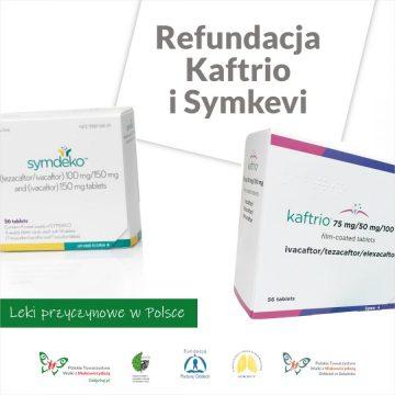 Wniosek o refundacje Kaftrio i Symkevi złożony!!!